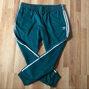 Adidas SST TP Superstar Trackpant Green jogger 2XL